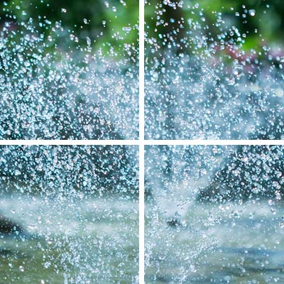 residential water fountain, residential landscaping services