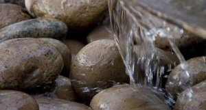rock fountain, waterfall, residential services