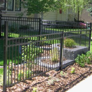 Ornamental fence example