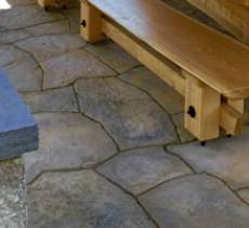 Natural Stone, Residential Patio