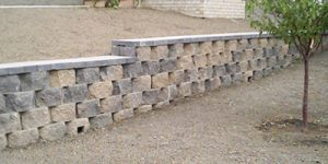 Retaining Wall, commercial