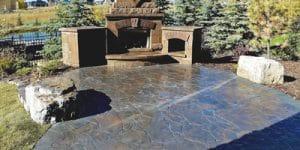 Natural Stone Concept Patio