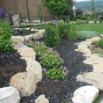Natural Stone Small Retaining Wall