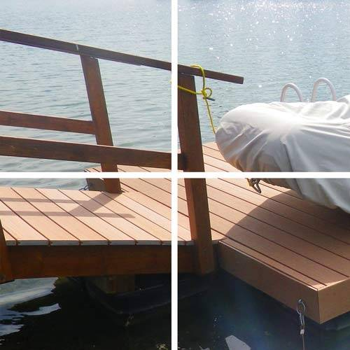 Composite decking, residential landscape services